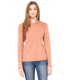 Peach Knitting Plain Tunic Tops